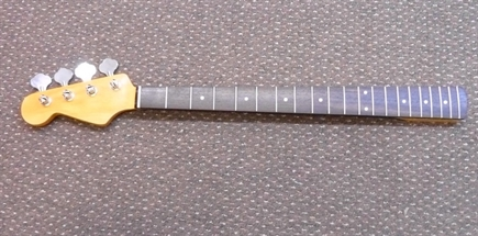 60's style L/H P Bass guitar neck, rosewood fingerboard
