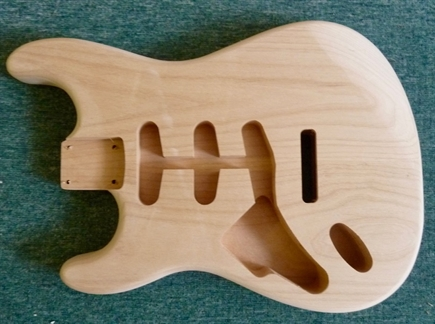 New L/H Strat , alder, electric guitar body, 44.5mm perfect replacement.