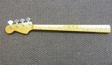 For sale, L/H left handed Jazz bass maple neck/fingerboard, Klusons