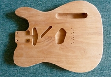 For sale, Solid Alder Tele body, sealed, ready to polish or lacquer