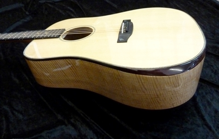 New model Terry Pack DBS handmade dreadnought acoustic guitar