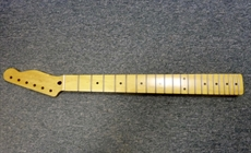 1950's style Telecaster one piece maple guitar  neck