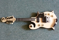 Rare 1962 handmade electric mandolin in the style of Bigsby