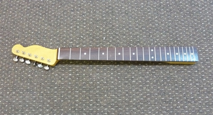 60's retro Tele neck, slab rosewood board