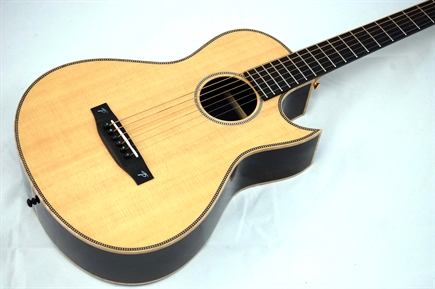 For sale, Terry Pack PLRS parlour guitar, solid rosewood, spruce SPECIAL OFFER!!